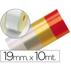 Cinta fantasia color blanco 19 mm