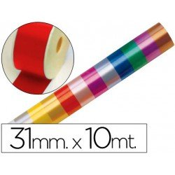 Cinta fantasia color rojo 31 mm