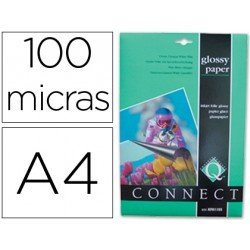 Papel foto Q-Connect Glossy Din A4