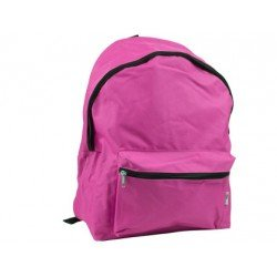 Mochila escolar Liderpapel color fucsia