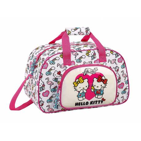 Bolsa Deporte Hello Kitty 40x24x23 cm Poliéster Girl Gang