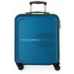 Maleta de cabina rígida Movom Flash azul marino 55x40x20cm