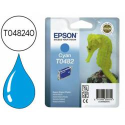 Cartucho Epson T048240 color cian