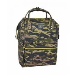 """Mochila para portatil 13"""" Moos de Poliester Camouflage"""