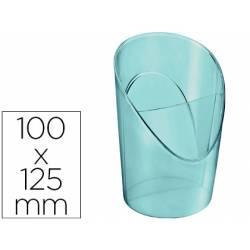 Cubilete Portalapices Esselte Colour Ice Plastico Color Azul 100x125x90 mm
