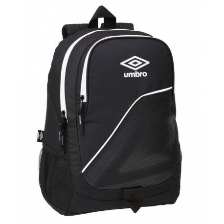 CARTERA ESCOLAR SAFTA UMBRO MOCHILA ADAPTABLE A CARRO 320X440X160 MM