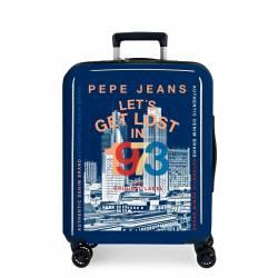 Maleta de cabina Pepe Jeans Leven rígida Cannoe 55x40x20cm
