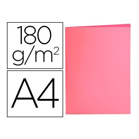 Subcarpeta de cartulina Liderpapel Din A4 Rosa pastel 180g/m2
