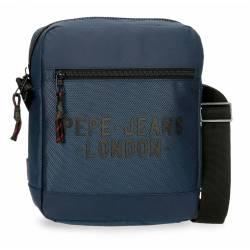 Bandolera Portatablet Pepe Jeans Bromley Azul 27x23x6cm