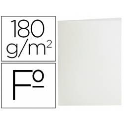 Subcarpeta de cartulina Liderpapel tamaño folio blanco 180g/m2
