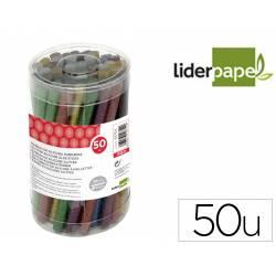Barras termofusible marca Liderpapel Purpurina Caja 50 unidades