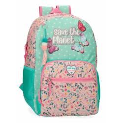Mochila Escolar Movom Save the Planet (2012521)