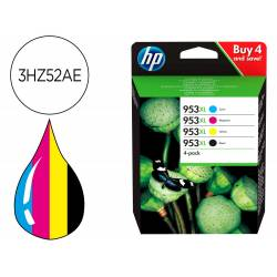 INK-JET HP 953XL OFFICEJET 7720 / 7740 / 8218 / 8710 8745 PACK NEGRO AMARILLO MAGENTA CIAN 1600 PAGINAS
