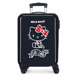 Maleta de cabina Girl Gang Hello Kitty rígida 55x37x20cm
