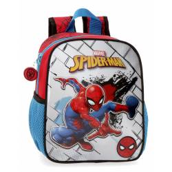 Mochila Guardería Spiderman Red (4042021)