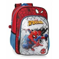 Mochila 38 cm Spiderman Red (4042321)
