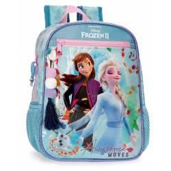 Mochila Frozen Awesome Moves Preescolar 28cm (4052121)