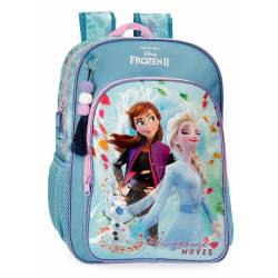 Mochila Frozen Awesome Moves Escolar 40cm (4052321)