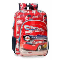 Mochila Escolar Cars Speed Trails 38cm (4032321)