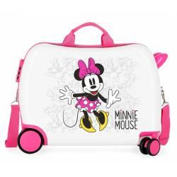 Maleta infantil 2 ruedas multidireccionales Minnie