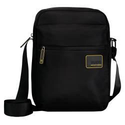 Bolso bandolera hombre color negro - RTG Totto 0,5 x 28 x 7,5 cm