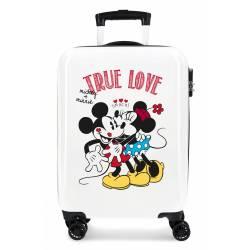 Maleta de Cabina Mickey y Minnie True Love 55x38x20cm