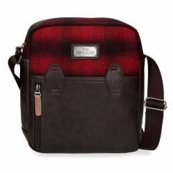 Bandolera Portatablet Pepe Jeans Scotch Rojo 27x23x7cm