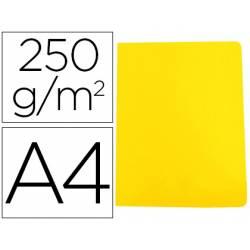 Subcarpeta Gio DIN A4 250 gr Cartulina color amarillo