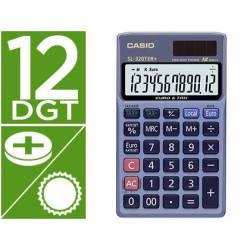 Calculadora Bolsillo Casio SL-320TER 12 digitos Azul