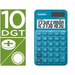 Calculadora Bolsillo Casio SL-310UC-BU 10 digitos Azul