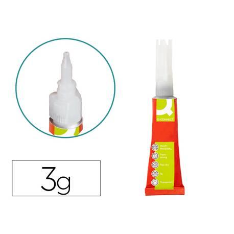 Pegamento instantanteo Q-Connect Adhesivo Fuerte