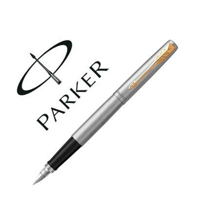 Pluma Parker Jotter acero con estuche de regalo