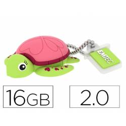 Memoria USB 16GB Tortuga EMTEC
