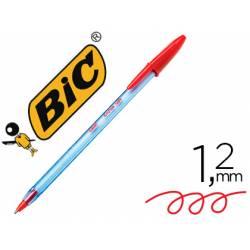 Boligrafo Bic Cristal soft Rojo punta de 1,2 mm