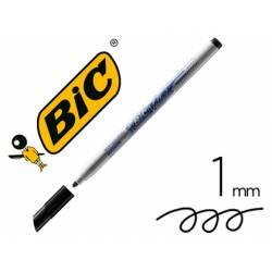Rotulador Bic Velleda fino 1 mm color negro