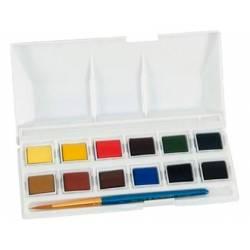 Acuarela Daler Rowney Bolsillo 12 colores surtidos