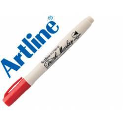 Rotulador Artline Supreme Brush Acuarelable Punta Pincel Color Rojo