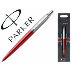 Bolígrafo Parker Jotter Core Kensington Cuerpo Red Tinta color azul