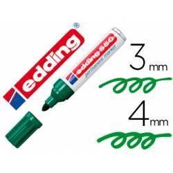 Rotulador Permanente Edding 550 Recargable Color Verde