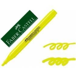 Rotulador Faber Castell fluorescente Textliner 38 amarillo