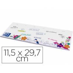 Planning sobremesa semanal Oxford 11,5x29,7 cm 52 hojas para colorear