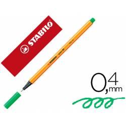 Rotulador Stabilo Point 88 Color Verde claro