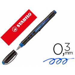Rotulador Stabilo Roller Black 0,3 mm Color Azul