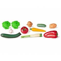 Juego de imitacion surtido de hortalizas a partir de 3 años Miniland