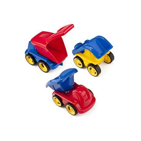Juego de construcción a partir de 1 año Minimobil Dumpy 6 vehiculos Miniland
