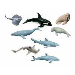 Juego infantil a partir de 3 años animales marinos Miniland
