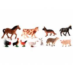 Juego infantil a partir de 3 años animales de la granja Miniland