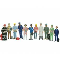 Juego infantil a partir de 3 años Figuras oficios Miniland