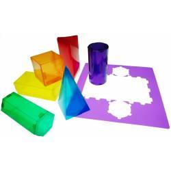 Juego Didactico a partir de 6 años formas Geometricas 3D Henbea