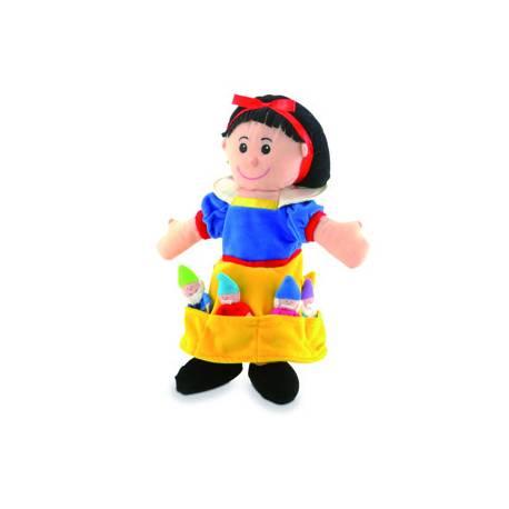 Marioneta de mano y de dedos Personajes Blancanieves a partir de 3 años Fiesta Crafts